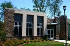 New construction on the Arkansas Baptist College campus includes Buffalo Barn, a facility built to provide a nice, comfortable place for students to gather to study, have a snack, and visit