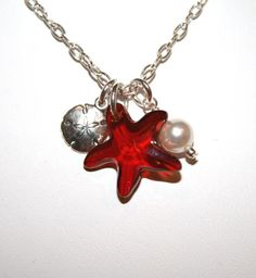 Swarovski Crystal Starfish and Sterling by TheSterlingTortoise, $30.00