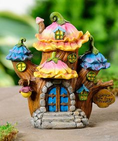 Look what I found on #zulily! Miniature Fairy Tale House #zulilyfinds