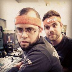 Sportin' the #doughtrading headbands! http://instagram.com/tastytrade #tastygram
