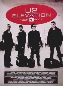 U2, Sportpaleis Antwerpen, 6 August 2001