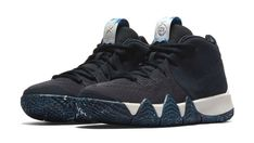 5f57bb5b43b Nike Kyrie 4 N7 Mens Basketball Shoes 11.5 Dark Obsidian Standing Rock  Nike   BasketballShoes