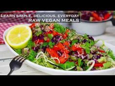 Easy raw food meal using super simple ingredients. Make your raw vegan diet delicious, nutritious, affordable and fast.