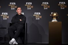 a68cecfbd48fc Gold-haired Cristiano Ronaldo Poised for Ballon d Or Glory