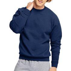 Hanes Big Men's EcoSmart Fleece Sweatshirt - Walmart.com