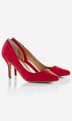 Pointed Toe D'orsay Pump   Express