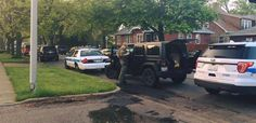 Shots Fired in Police Standoff  in Chicago