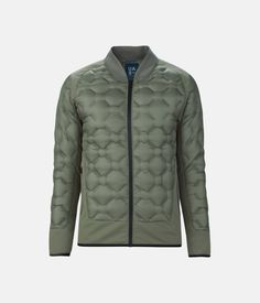 Men's UAS Transition Down Jacket, MILITARY GREEN, zoomed image