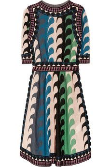 M Missoni                                  Intarsia knitted dress