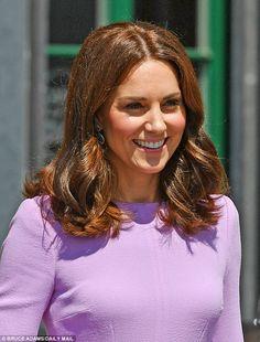 The Duchess of Cambridge, 35, has also unveiled a new shorter hair do