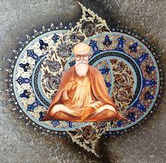 Guru Nanak Wallpaper, Guru Nanak Ji, Religion, Tapestry, Creative, Painting, Hanging Tapestry, Tapestries, Painting Art