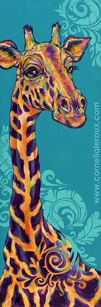 Cornelia Le Roux ~ The Cheeky Giraffe
