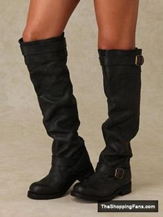 black Over the Knee Boot » The Shopping Fans