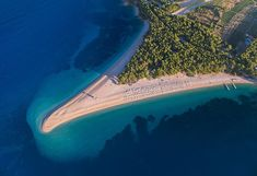Zlatni rat (Golden Horn or Golden Cape) is one of the most beautiful beaches of the Mediterranean. It can be often seen on the lists of Top best beaches in the world on various websites and magazines. It is situated on the southern coast of the Island of Brac, less than 2 km from a beautiful...
