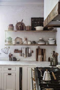 Antic&Chic. Decoración Vintage y Eco Chic: [Lugares con alma] La cocina de Local Milk