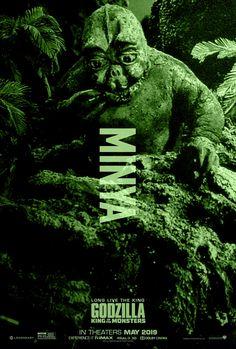 Godzilla King of the Monsters: Minya All Godzilla Monsters, Scary Monsters, Neo Monsters, King Kong Vs Godzilla, Godzilla 2, Godzilla Franchise, Godzilla Birthday, Monster Names, Godzilla Wallpaper