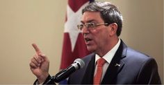 Declaraciones del Ministro de Relaciones Exteriores de Cuba #DeCubayloscubanos #BrunoRodríguezParrilla #declaraciones #embajada