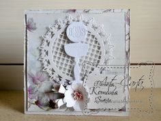 Art-Carta : Magnoliowa Komunia w bieli
