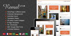 Remal - Responsive WordPress Blog Theme by mo3aser on Themeforest