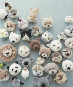 """© TRIKOTRI / YUKO FUKUI""""Heartwarming. Happy. Adorable."""" Three words that come to the mind for Japanese maker Tsubasa Kuroda, a.k.a. trikotri as she goes by online, in thinking about her craft of specialty: pom-pom animals.Take a peek at her Instagram, and you'll see the collection of her charming critters-plump little parakeets, fluffy hedgehogs and house cats, and smiley Shiba Inus. And whether they're bundled in a basket or artfully pinned to a sweater lapel, the appeal of those furry…"""