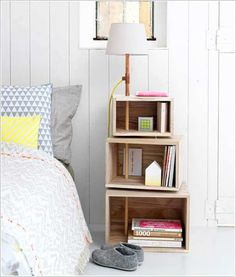 Replace Your Ordinary Nightstand with a Storage Solution 10