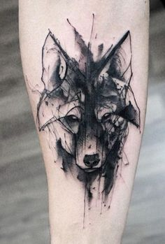 Kamil Mokot wolf tattoo but barnaby instead!