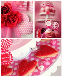 Valentines Party Table Ideas- Amanda's Parties To Go