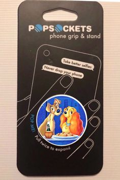 Taking Good Selfies, Pop Sockets Iphone, Disney Phone Cases, Phone Grip And Stand, Disney Pop, Lady And The Tramp, Vsco, Gadgets, Purses
