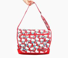 Hello Kitty Messenger Bag: Busy Day