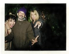 Kathleen Hanna, Ad-Rock and Kim Gordon at Vice's 20th anniversary party.