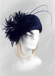 Feathered Church Hats - L68 - Church Hats Collection - 1001 Church Hats