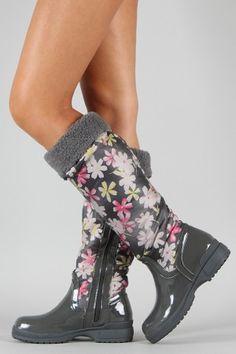 Knee High Rain Boot