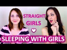 """Rarísimo: las chicas en el video de """"por qué las chicas hetero tienen sexo con lesbianas"""" están todas pintarrajeadas, parecen muñecas. Straight Girls Explain: Sleeping With Lesbians"""