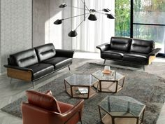 Canapé 2 places en cuir. Mod. TIVOLI 2P Interiores Design, Eames, Angles, Sofas, Lounge, Chair, Style Indien, Home Decor, Products