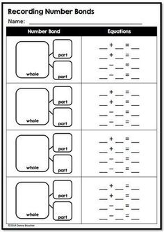 Developing Part/Whole Thinking - Math Coach's Corner