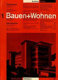 Bauen+Wohnen: Volume 03, Issue 01 #retro