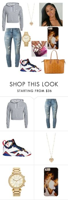"""""""Untitled #471"""" by princessdymin ❤ liked on Polyvore featuring Only Play, Faith Connexion, Betsey Johnson, MICHAEL Michael Kors and MCM"""