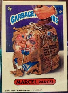 1987 Topps Garbage Pail Kids Trading Card 325a by LEATHERGLACIER, $2.00
