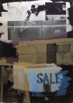 Robert Rauschenberg, Fence, 1992, Hamilton-Selway Fine Art