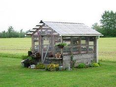 greenhouse. A girl can dream... #buildingagardenshed