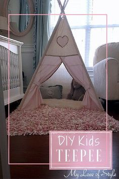 I absolutely adore Indoor Teepees, they are the perfect hideaway for kids, and let's face it, all kids need a place where they can go and hide out. So...I decid…