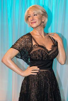 Helen Mirren according to Madame Tussaud