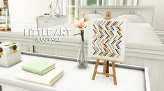 Little art - Miniature decorative easel