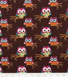 Nursery Fabric- Owls On Branches: fabric: Shop | Joann.com