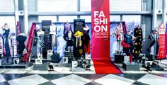 13 Columbia College Fashion Design students' fashions on display at O'Hare. Vote: www.flychicago.com/fashionpacked
