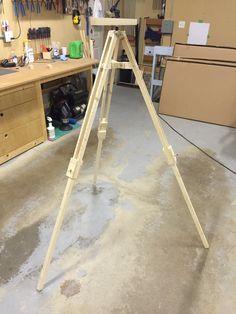 Make It - Wooden Tripod - YouTube