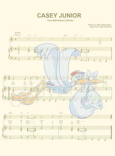 Dumbo Art Print par AmourPrints sur Etsy Disney Time, Art Disney, Disney Crafts, Disney Fun, Disney Princess Quotes, Disney Movie Quotes, Disney Songs, Images Disney, Disney Pictures