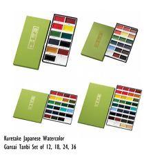 NEW Kuretake Japanese Watercolor Paint Gansai Tanbi Colors SET MC20 F S Japan   eBay