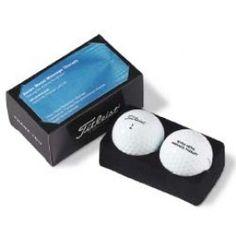 PackEdge Business Card Box w/ 2 Titleist Pro V1 Golf Balls
