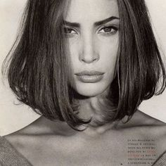 """""""To heal, you must learn to be alone."""" Model: Christy Turlington"""